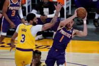 NBA Playoffs 2021: Sun Sets On Lakers' Season As Booker's Phoenix Eliminate Champs, Nuggets Advance
