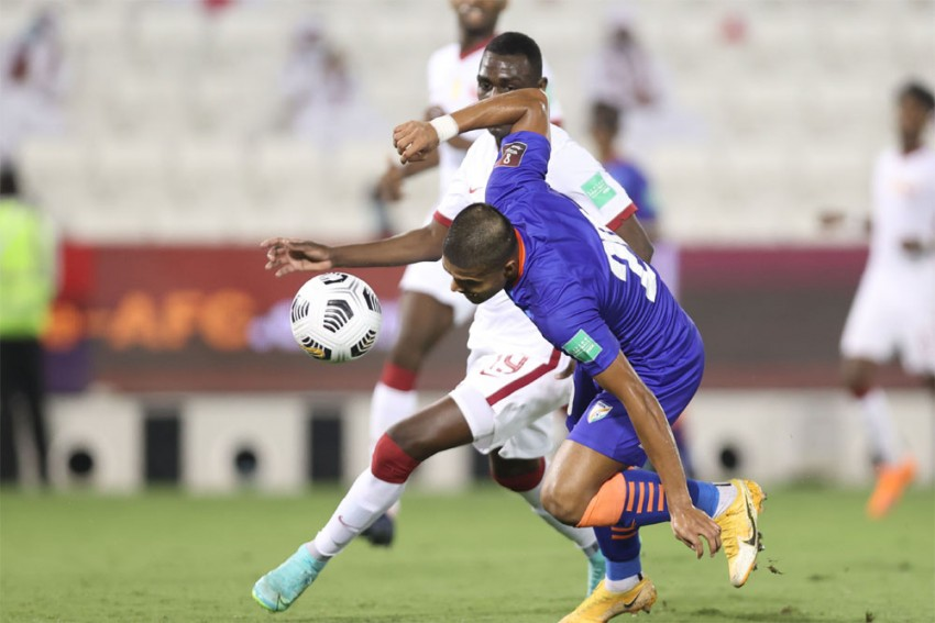 India Vs Qatar, 2022 World Cup Qualifiers: Blue Tigers Lose By Solitary Goal After Rahul Bheke Red Card - Highlights