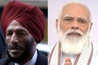 Narendra Modi Speaks To Sprint Legend Milkha Singh, Enquires About His Health