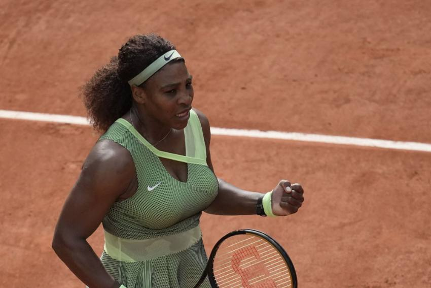 French Open: Serena Williams Sees Off Danielle Collins With Fierce Second-set Fightback