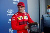 F1 2021: Charles Leclerc Claims Pole For Azerbaijan Grand Prix After Crash-heavy Qualifying In Baku