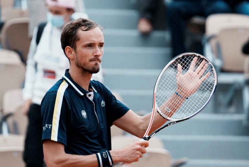 French Open 2021: Rain Can't Dampen Medvedev Spirits As Russian Chases World-ranking Summit
