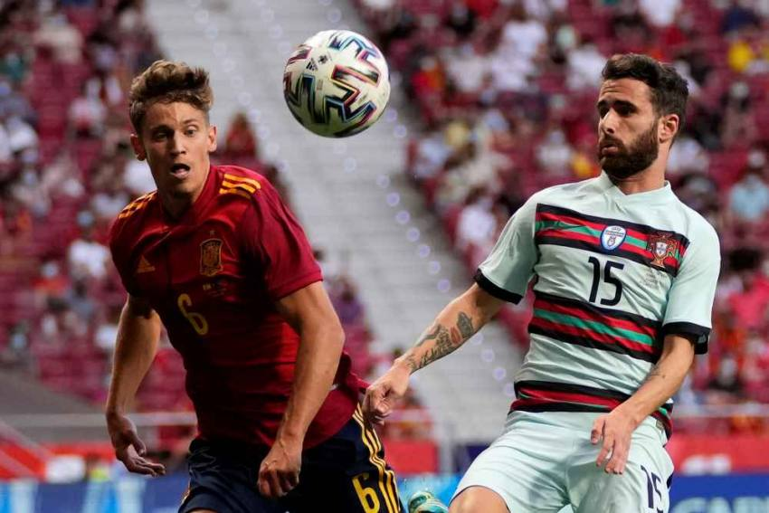 Luis Enrique Stands By Alvaro Morata Amid Criticism As Spain Draw A Blank In Portugal Friendly