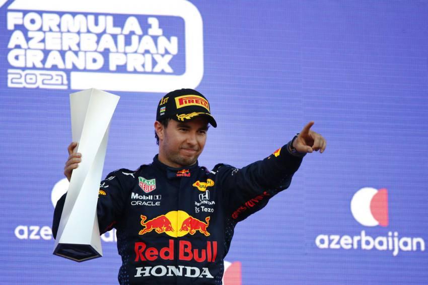 Azerbaijan Grand Prix: Sergio Perez Wins After Max Verstappen Crash, Lewis Hamilton Error