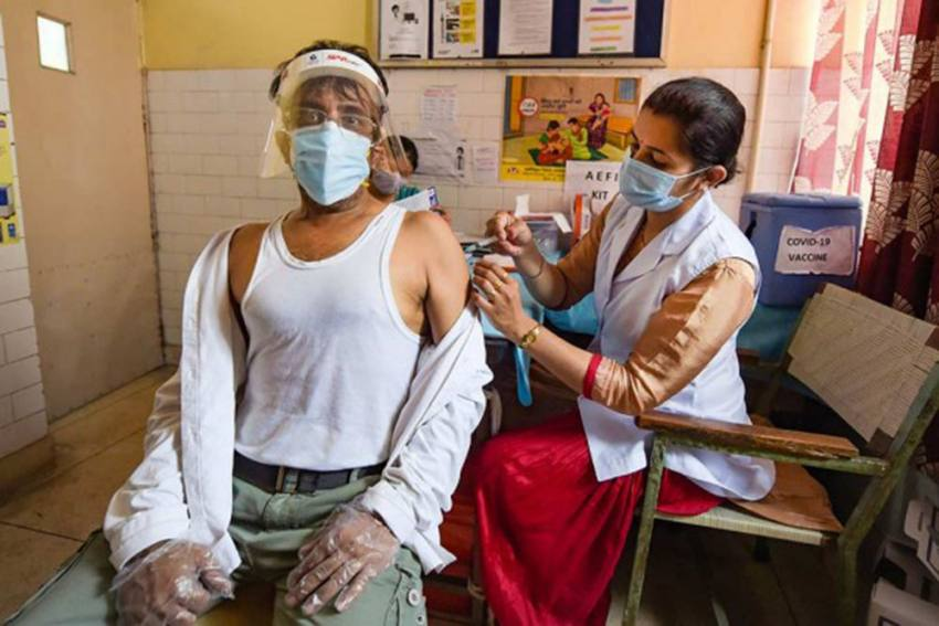 Covid Vaccine Doses Administered In India Cross 55 Crore