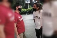Singaporean Man Makes Racist Remarks Against Indian-Origin Man In Viral Video