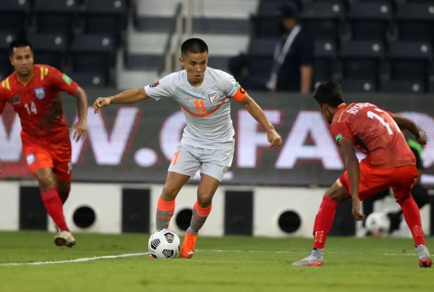 2022 FIFA World Cup Qualifiers: Sunil Chhetri's Brace Vs Bangladesh Gives India First Win