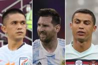 Sunil Chhetri Overtakes Lionel Messi, Only Behind Cristiano Ronaldo In Active International Goalscorer List