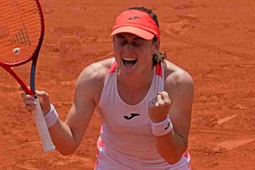 French Open: Unseeded Tamara Zidansek Beats Paula Badosa, Reaches Semifinals