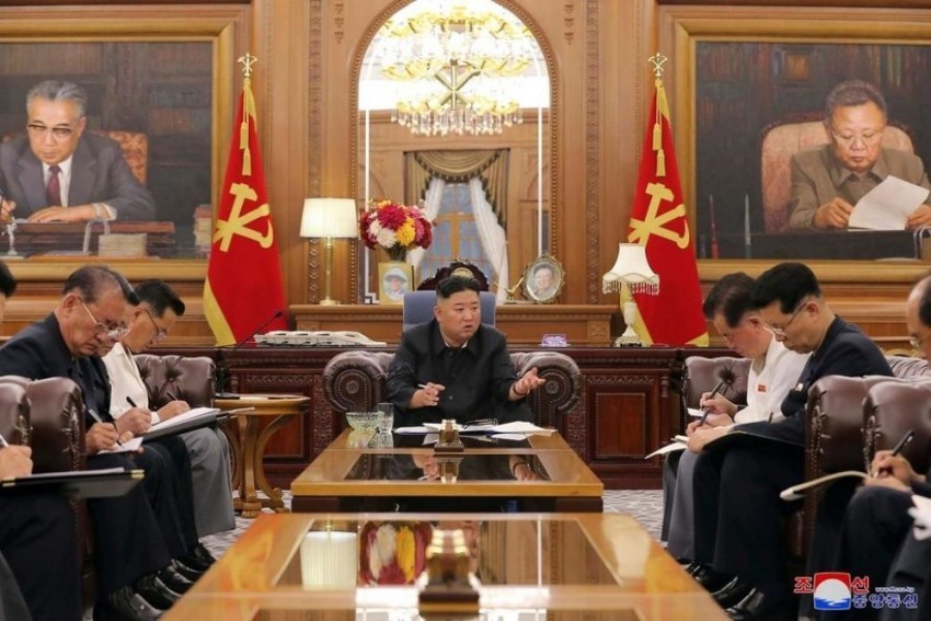 Kim Jong Un Presents Economic Plans To Stabilize Post-Covid N Korean Economy