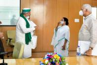 Farm Law Protests: Mamata Assures Support To Farmers' Leader Rakesh Tikait