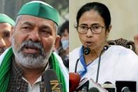 Farmer Leaders Rakesh Tikait And Yudhvir Singh To Meet Mamata Banerjee To Elicit Support For Stir