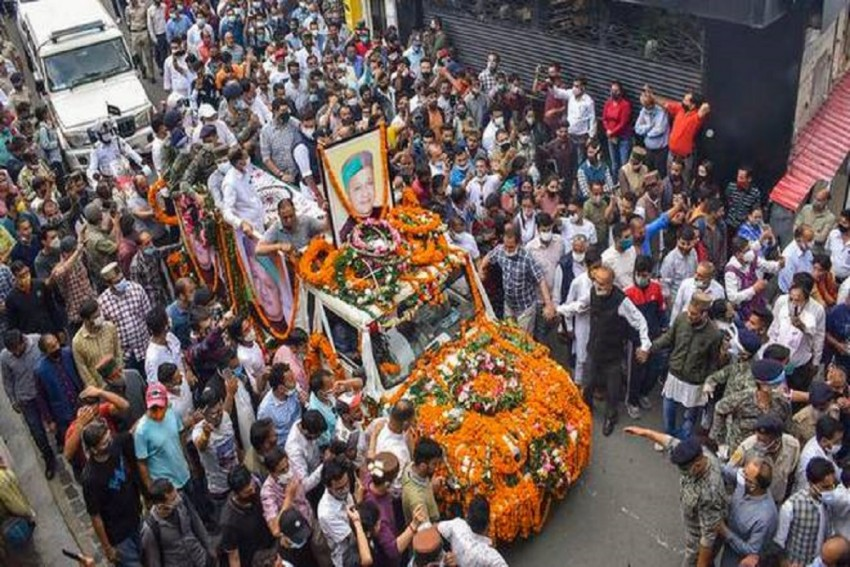 Former Himachal CM Virbhadra Singh Cremated With Full State Honours
