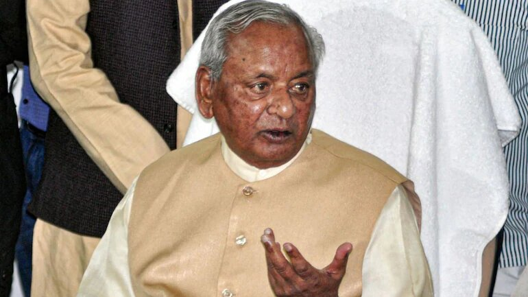 Ex-UP CM Kalyan Singh Is In Stable Condition: Hospital