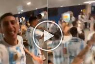 Copa America Final: Lionel Messi's Argentina Sing 'Brasil, Decime Que Se Siente' After Beating Brazil - WATCH
