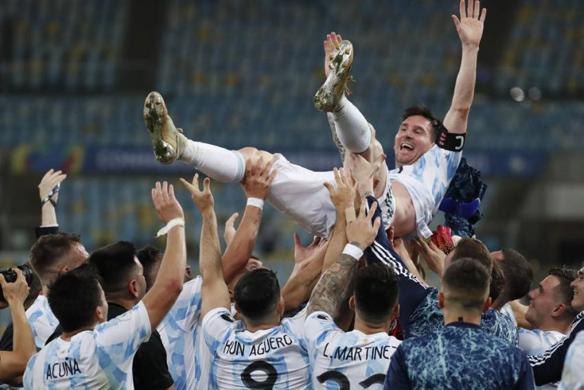 Copa America: Lionel Messi Wins First Major Title With Argentina, Beat Brazil In Final