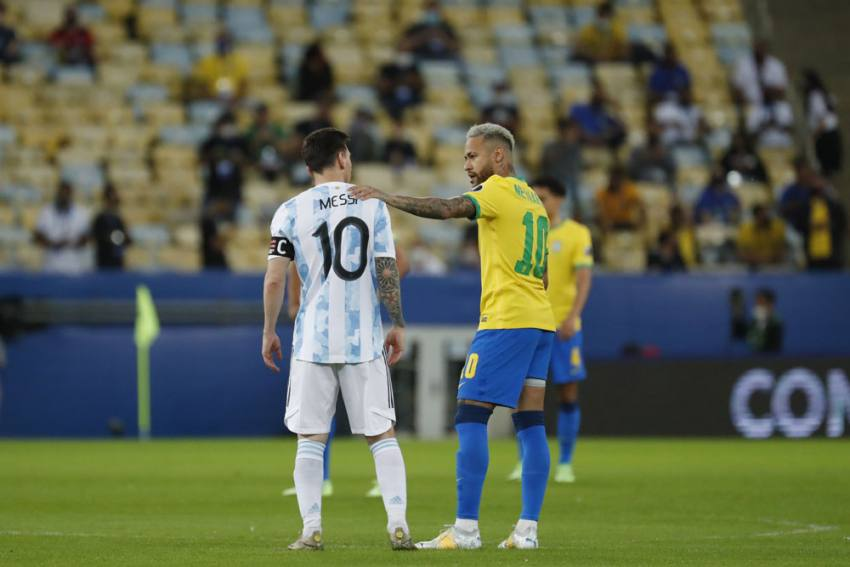 Lionel Messi, Neymar Picked As Best Players At Copa America 2021