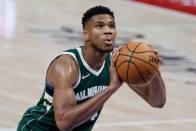NBA: Antetokounmpo Carries Bucks To Their First Win