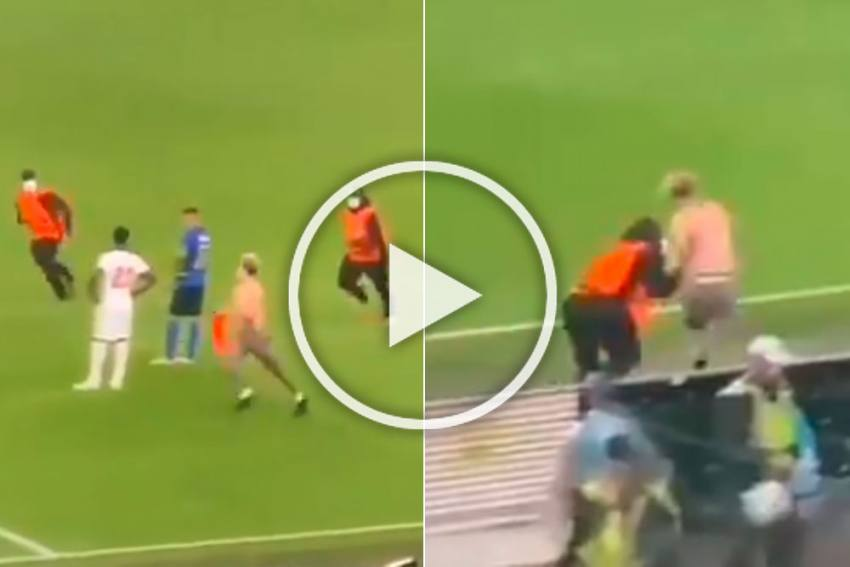 Euro 2020, Final: Crazy Scenes At Wembley As Pitch Invader Stops Italy Vs England Clash - WATCH