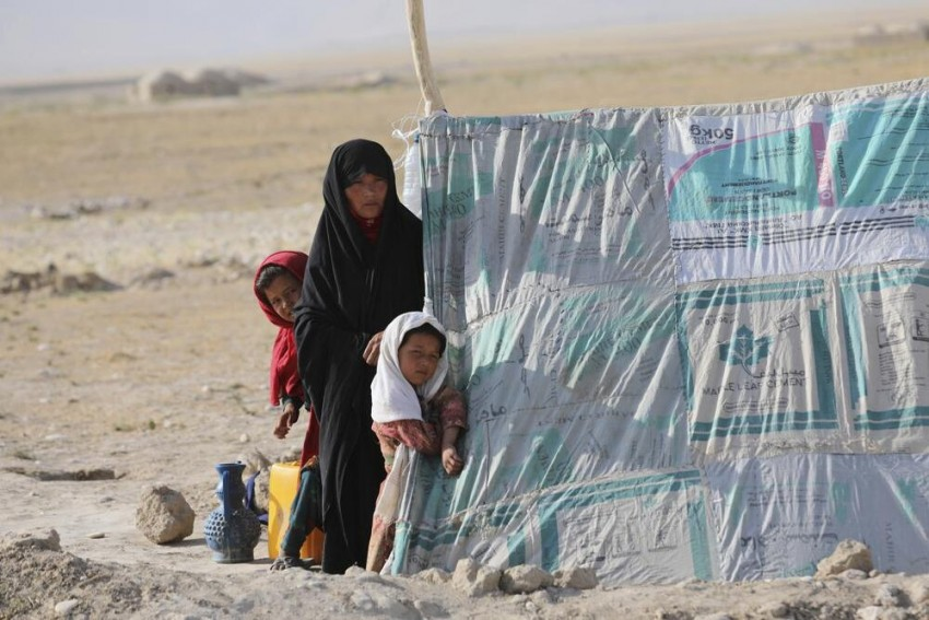 As Taliban Continues To Gain Ground In North Afghanistan, Thousands Flee