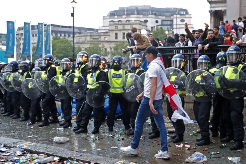 UEFA To Investigate England Fan Violence At Euro 2020 Final