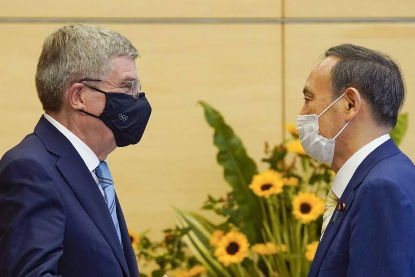 Tokyo Olympics: Thomas Bach Meets Yoshihide Suga As Coronavirus Cases Approach 6-month High