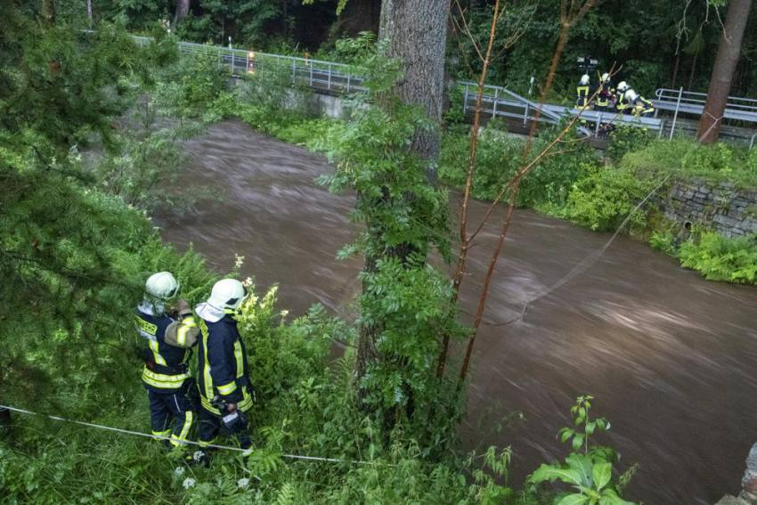 Heavy Flooding Across Western And Central Europe After Rain