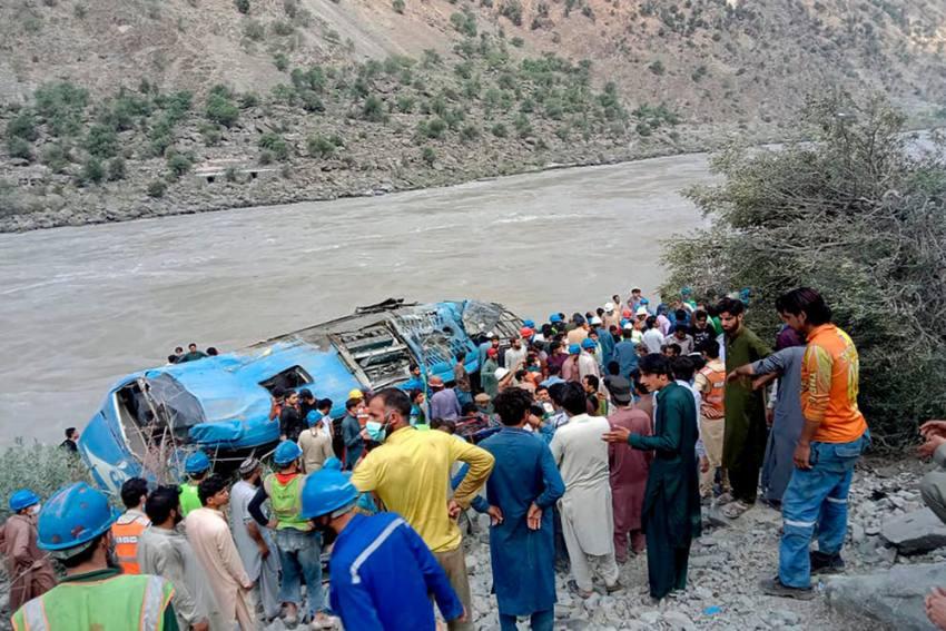 Pakistan Bus 'Blast': 9 Chinese Among 13 Killed In Khyber Pakhtunkhwa Province