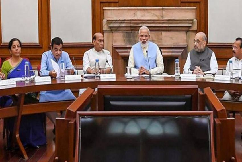 Days After Reshuffle, Union Cabinet To Meet Physically After More Than A Year