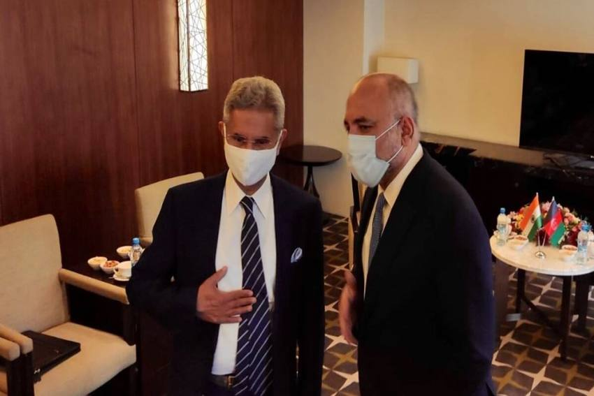 Jaishankar Meets Afghan Counterpart Amid Reports Of Further Inroads By Taliban Militants
