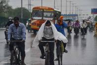 Monsoon: Light To Moderate Rainfall Expected In Delhi Over Next Six Days