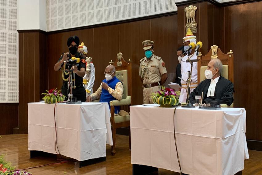 Satyadev Narayan Arya Takes Oath As New Governor Of Tripura