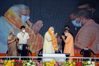 PM Modi Sounds Poll Bugle From Varanasi, Says UP's Handling Of Second Covid Wave 'Commendable'