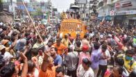 Hundreds Walk In Religious Rally Flouting COVID-19 Protocols In Madhya Pradesh