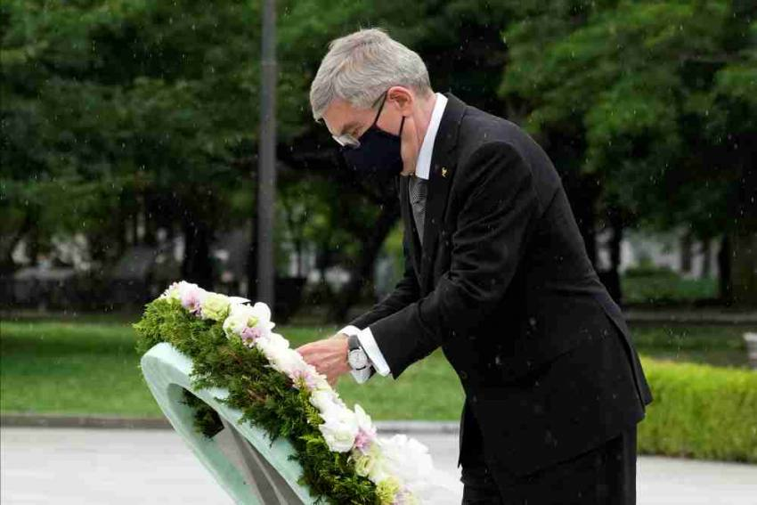 Tokyo Olympics: IOC President Thomas Bach Gets Mixed Reaction In One-day Visit To Hiroshima