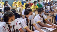 Schools Reopen In Haryana For Classes Nine To Twelve After Three Month's Gap