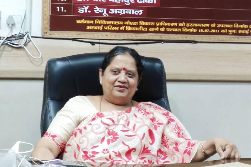 Noida COVID Hospital Chief Dr Renu Agarwal Transferred In Surprising Move