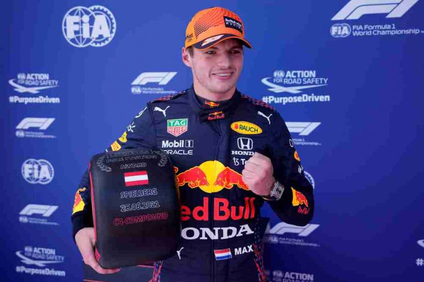 F1 2021: Max Verstappen Quickest Ahead Of Historic Sprint Qualifying Race