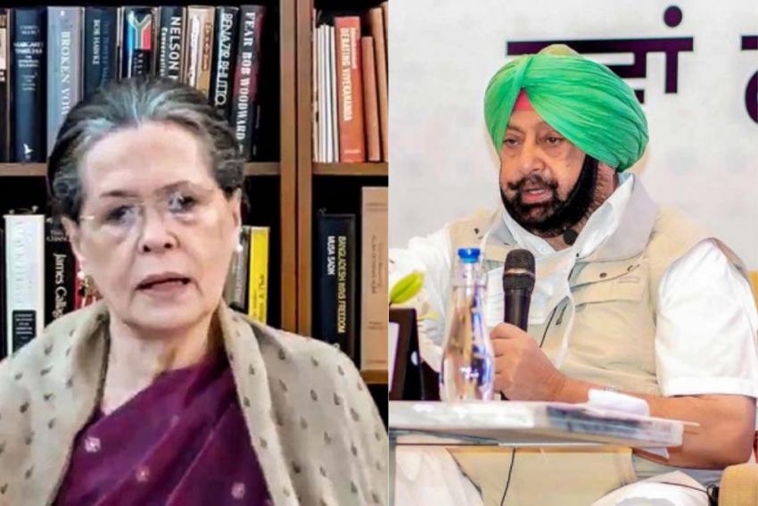 As Congress Mulls Appointing Navjot Sidhu As Punjab Unit Chief, Amarinder Singh Writes To Sonia