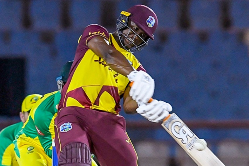 WI vs AUS: Opener Evin Lewis Leads West Indies To 4th T20 ...