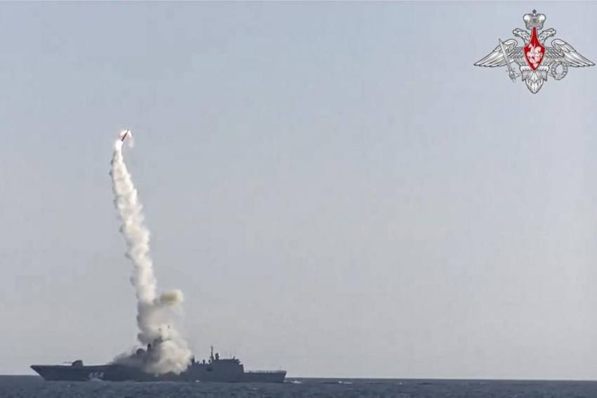 Russia Successfully Test Launches Hypersonic Missile
