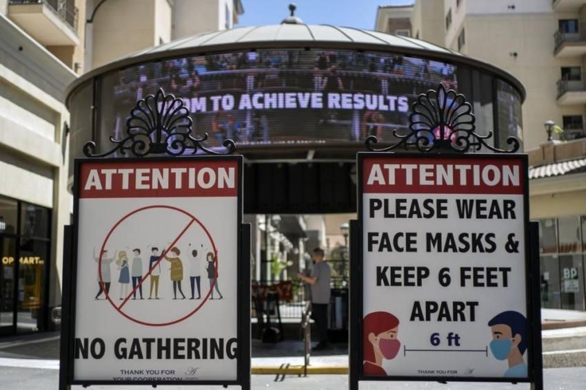 US Hopes New Mask Mandate Will Reverse Virus Spike In LA