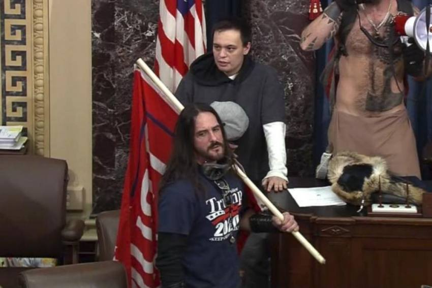 US Capitol Riots: Florida Man Who Breached Senate Chamber, First To Face Sentencing For Felony