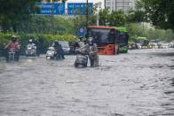 Delhi Rains: Waterlogging Reported On Several Road Stretches; Man Drowns In Flooded Underpass