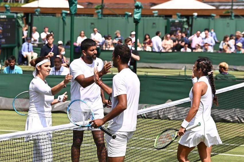 Wimbledon 2021: Rohan Bopanna, Sania Mirza Win Historic All-Indian Match