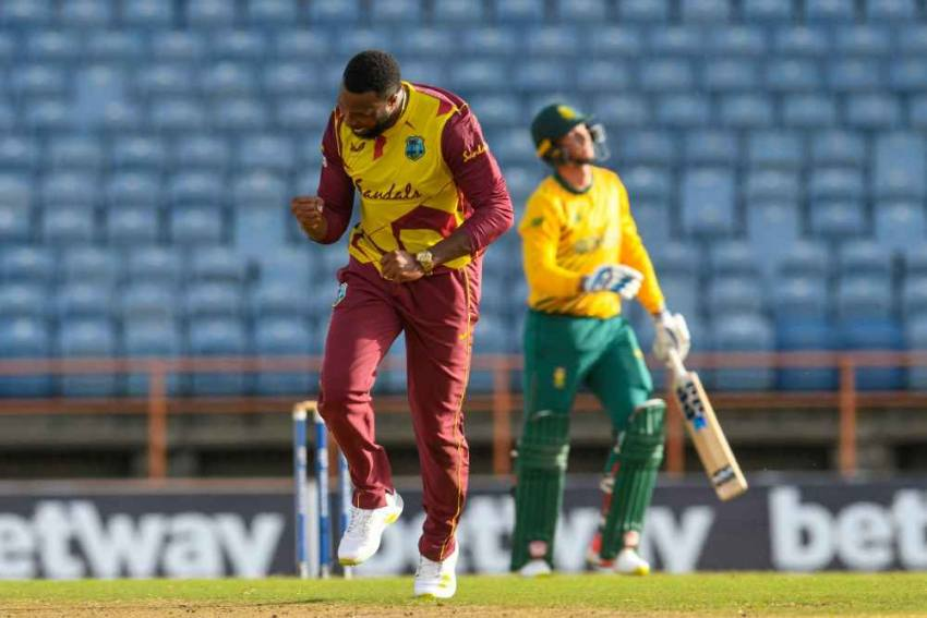 WI vs SA, 4th T20I: West Indies Beat South Africa By 21 Runs, Level Series