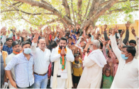 Amroha's Newly Elected District Panchayat President Lalit Tanwar Focuses On The Importance Of Education