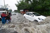 Monsoon: Delhi Reports Two Incidents Of Wall Collapse; Low-lying Areas Inundated