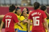 Tokyo Olympics: Marta Scores Twice As Brazil Rout China 5-0
