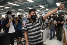 Former Apple Daily Senior Editor Arrested By Hong Kong Police